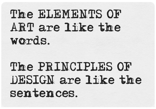 Six Principles Of Art : Elements of art and principles design